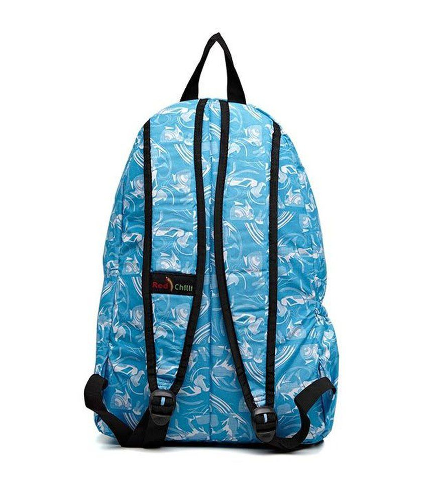 Red Chilli Always Cool Backpack Blue Backpack - Buy Red Chilli ... ff47107407ef4