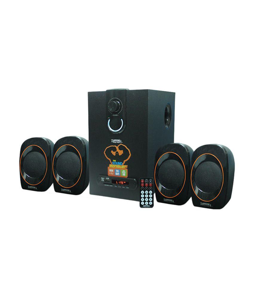 Zebronics ZEB-SW3390RUCF 4.1 Speaker System