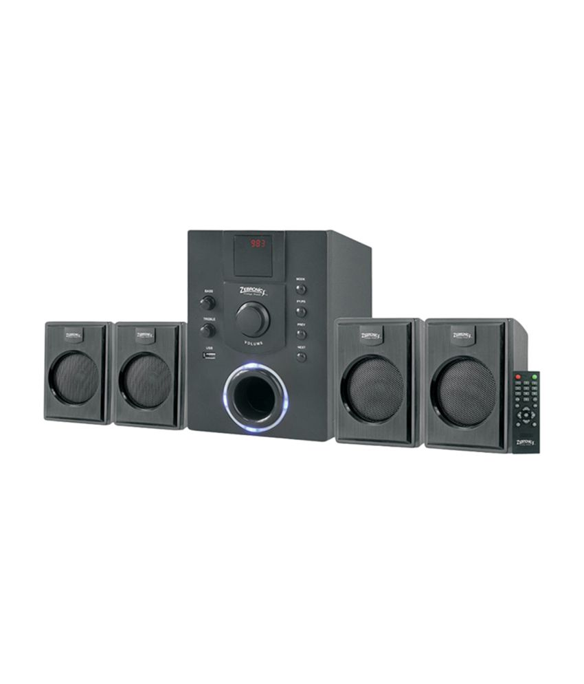 Zebronics ZEB-SW400RUF 4.1 Speaker System