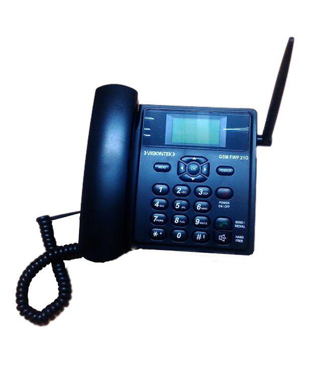 Buy Visiontek GSM Fixed Wireless Landline Phone (Uses Sim