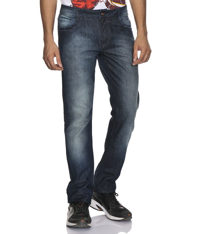 John Players Navy Skinny Jeans