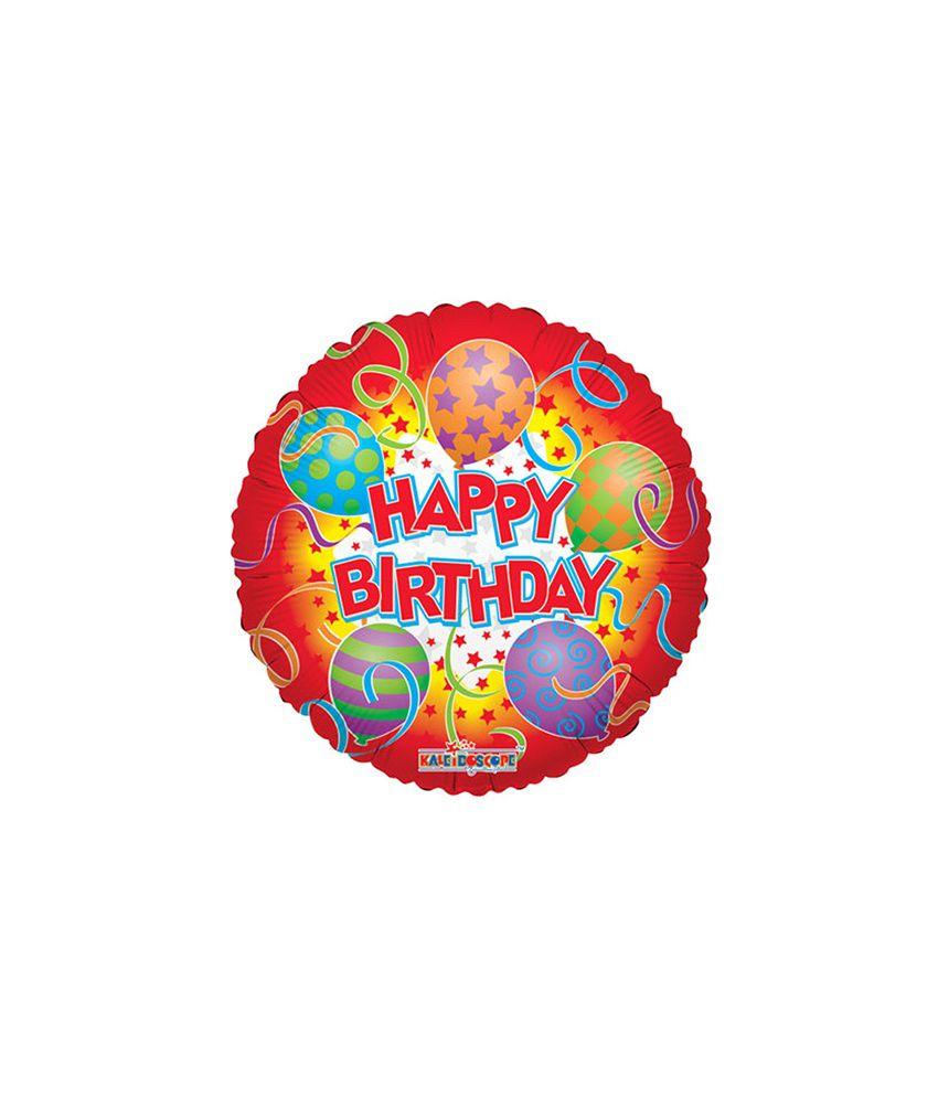Kaleidoscope Happy Birthday Printed Balloons