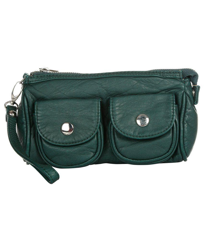 Kiara 10508-green Green Clutch