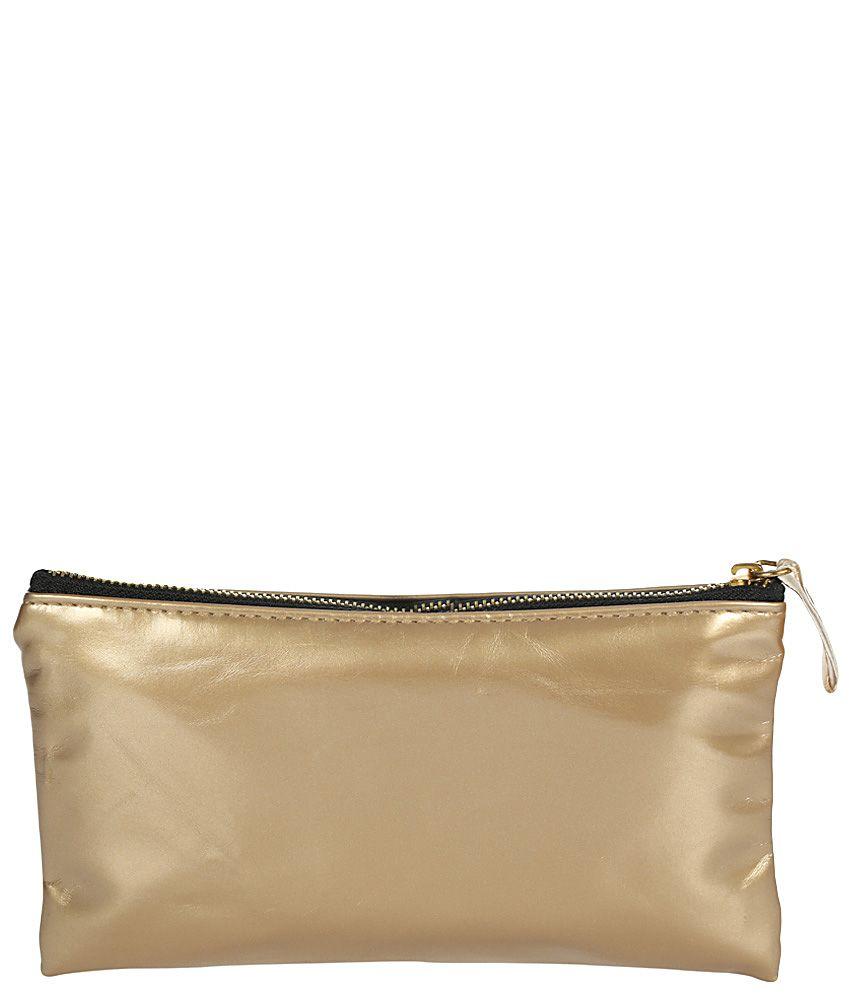 Kiara Cl-1048-golden Gold Clutch