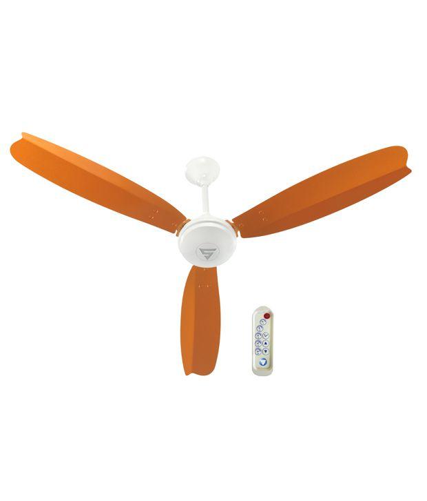 Superfan Super A1 Ceiling Fan Orange Price In India