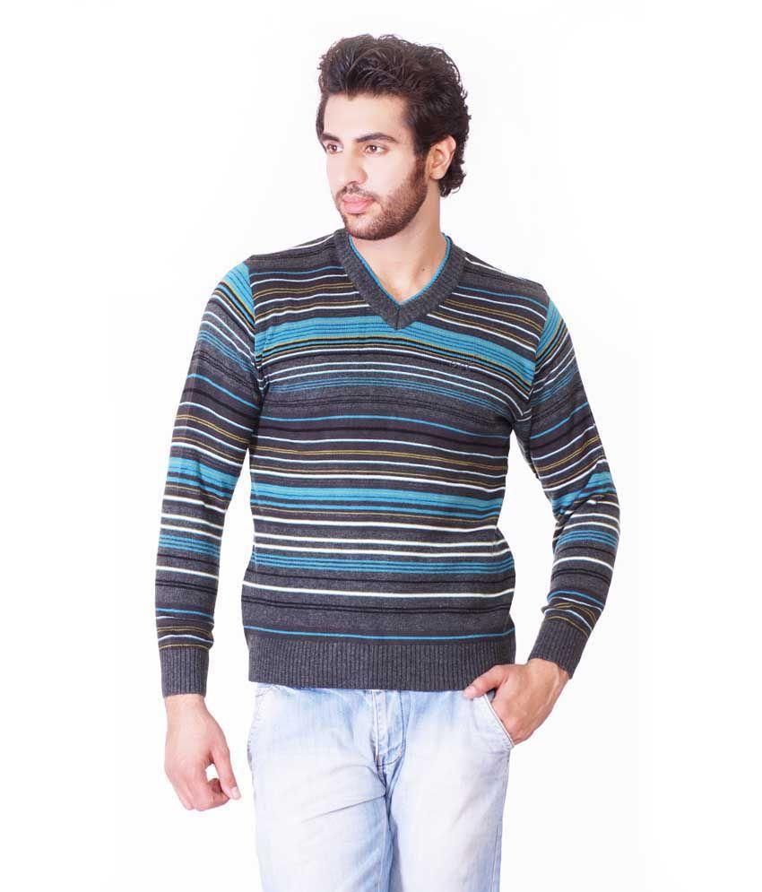 87d29b536f30 Oracle Multicolor Full Acrylic V-neck Sweaters For Men - Buy Oracle  Multicolor Full Acrylic V-neck Sweaters For Men Online at Best Prices in  India on ...