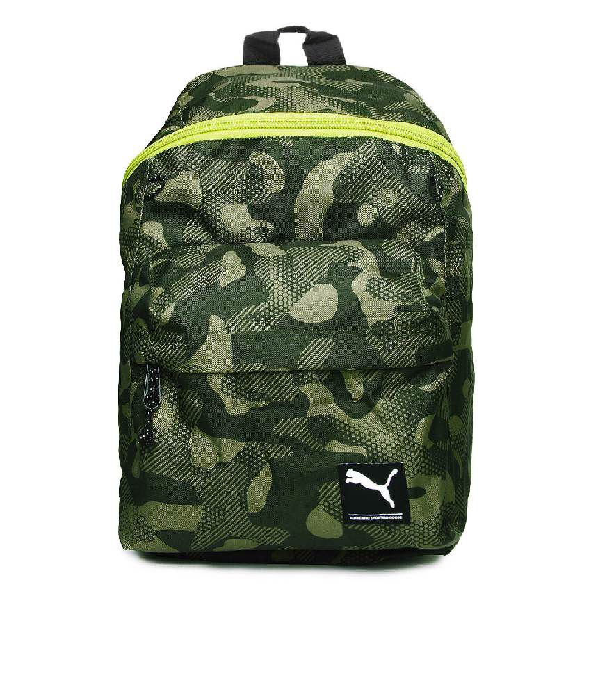 Puma Unisex Foundation Green Backpack - Buy Puma Unisex Foundation Green  Backpack Online at Best Prices in India on Snapdeal 5ee90d450f0dd