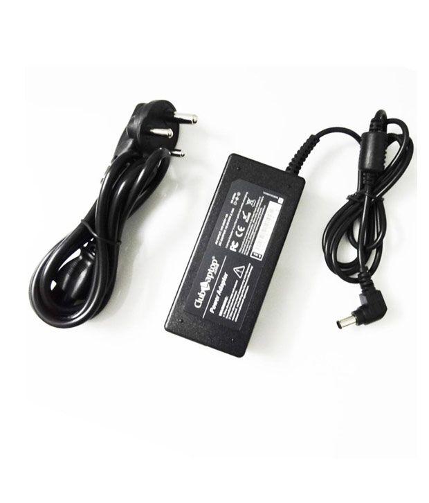 Clublaptop 90w Sony VGNFW460JT VGN-FW460JT 19.5V 4.74A (6.5 x 4.4 mm) Laptop Adapter Charger