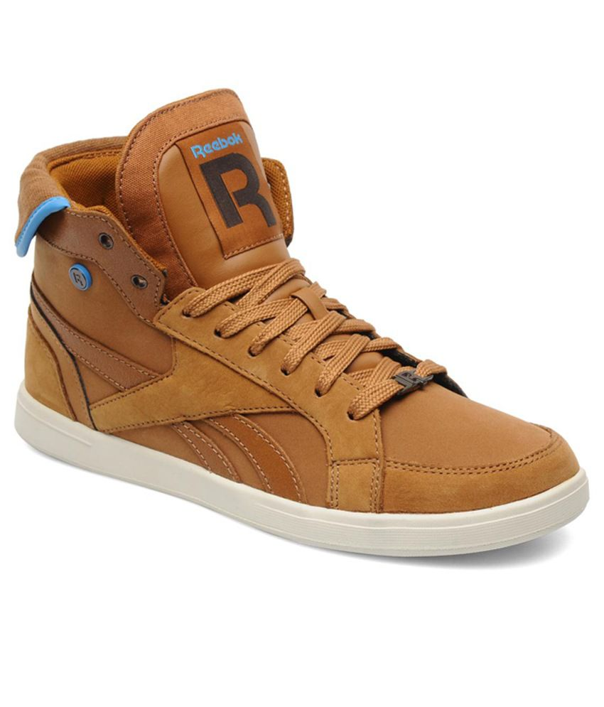 475825efd4d4ca Reebok Brown Sneaker Shoes - Buy Reebok Brown Sneaker Shoes Online at Best  Prices in India on Snapdeal