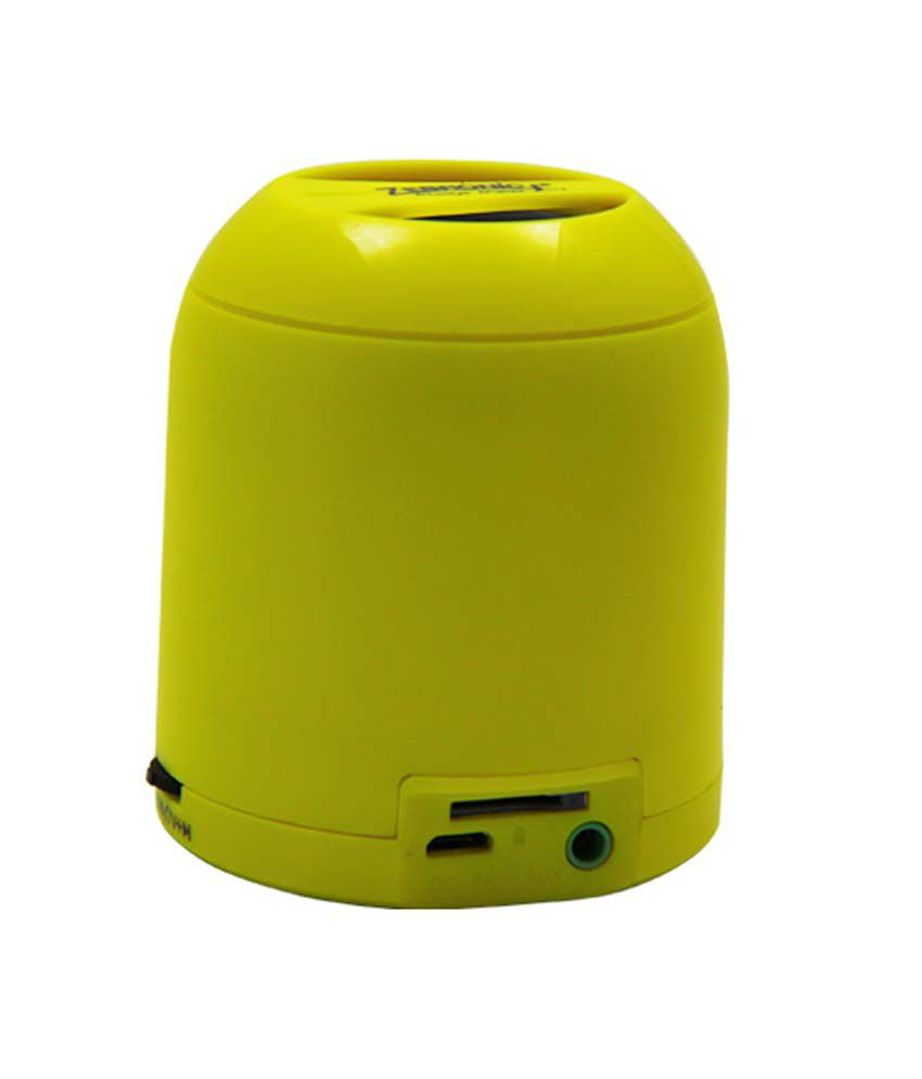 Zebronics Bluetooth Speaker Bullet Yellow