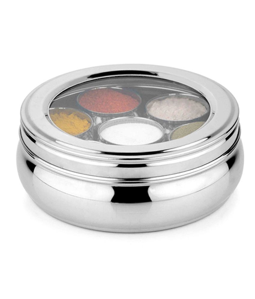 airan stainless steel spice container (big) buy online at best  - airan stainless steel spice container (big)