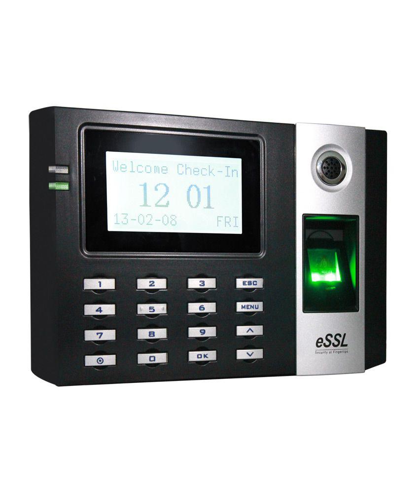 Essl E9 Biometric System Price In India Buy Essl E9