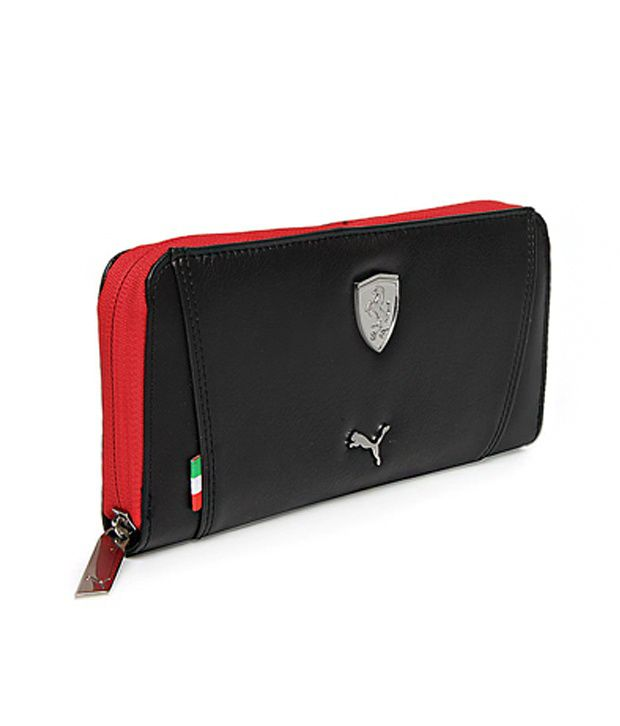 d8937712cc Puma Women Black Ferrari Ls Wallet Puma Women Black Ferrari Ls Wallet ...