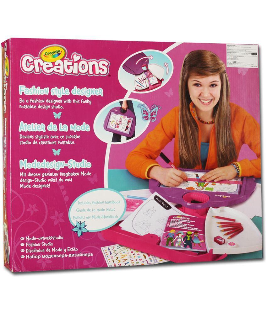 Crayola Fashion Style Designer Buy Crayola Fashion Style Designer Online At Low Price Snapdeal