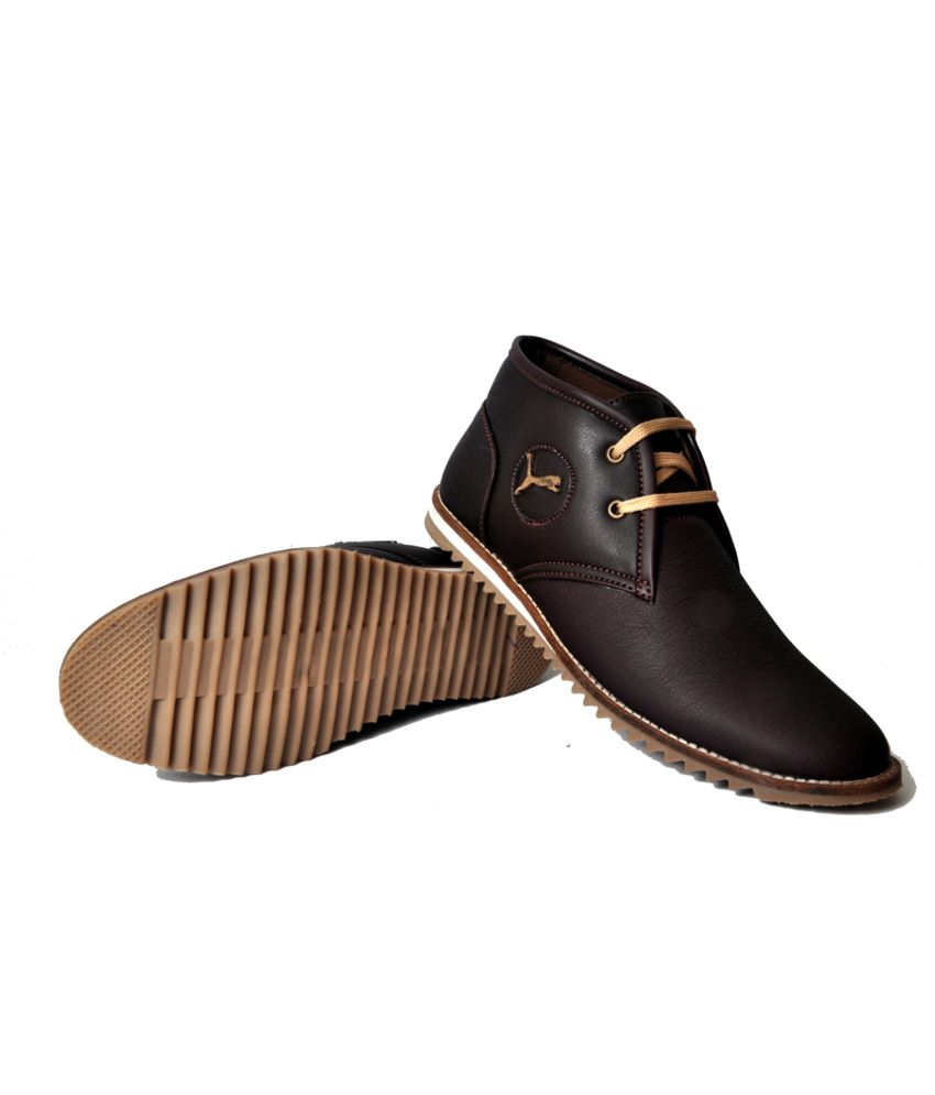 West Code Brown Casual Shoes