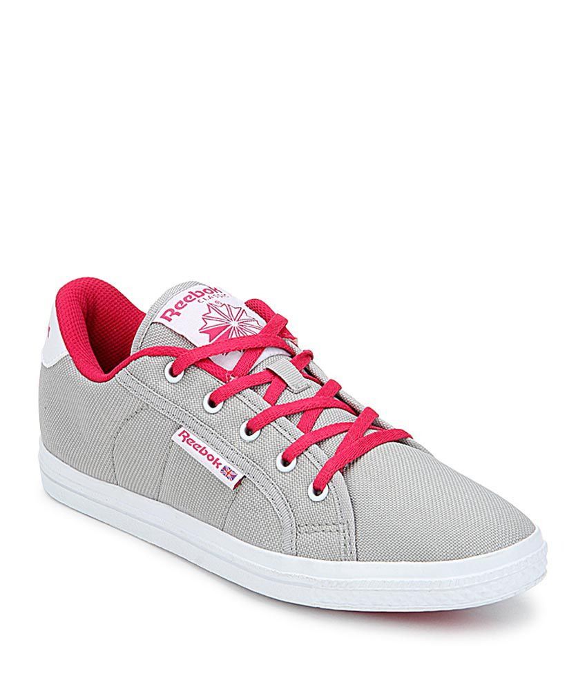Reebok On Court Iii Lp Gray Lifestyle Sneakers Price in India- Buy Reebok  On Court Iii Lp Gray Lifestyle Sneakers Online at Snapdeal 757d66c1a