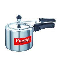 Prestige 3 Ltrs Nakshatra Silver Aluminium Straight Wall Pressure Cooker