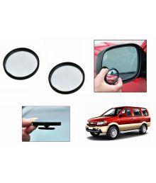 Speedwav 3r Round Flexible Car Blind Spot Rear Side Mirror Set Of 2 - Gm Chevrolet Tavera