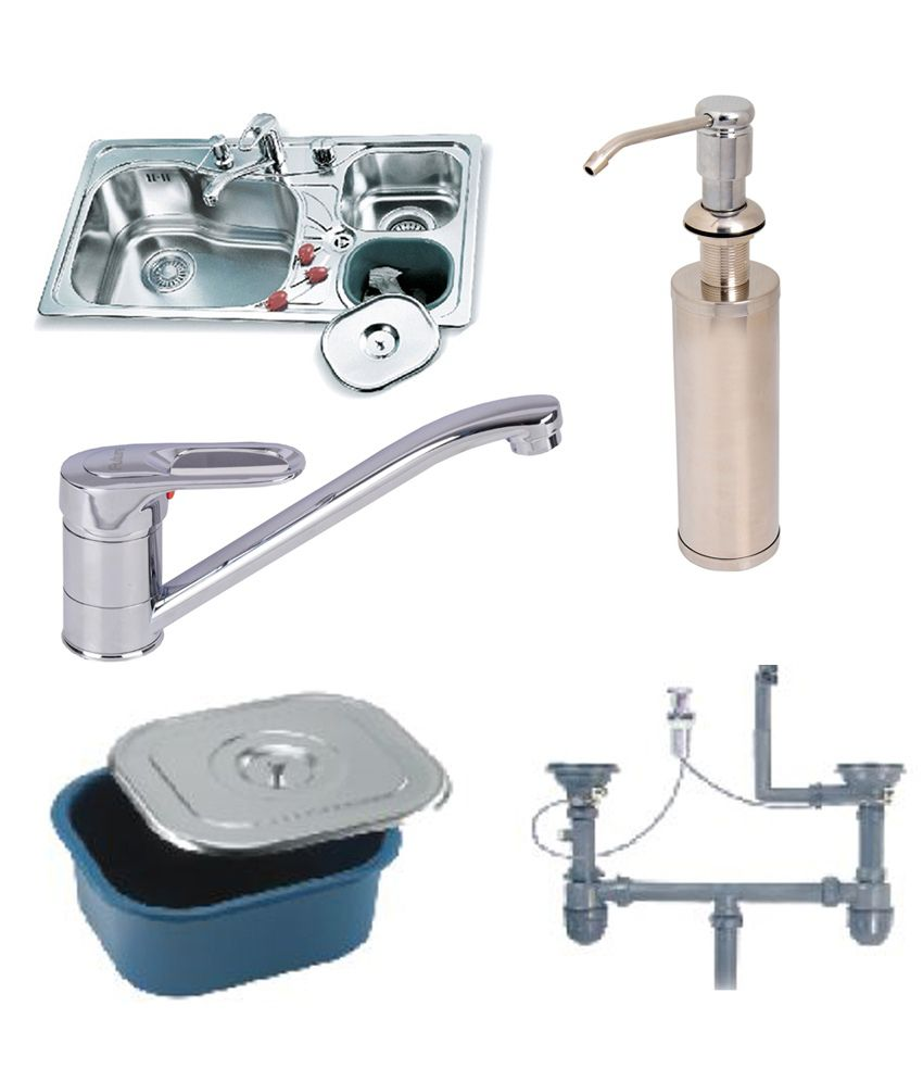 Trendy Kitchen Sinks : Buy Futura Designer Kitchen Sink FS 111 With Free Drainer Kit ,Faucet ...