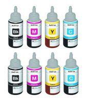 Fine Print Ink For Epson L100,l110,l200,l210,l300,l350,l355,l550,l555 ( Buy 1 Get 1 Free )