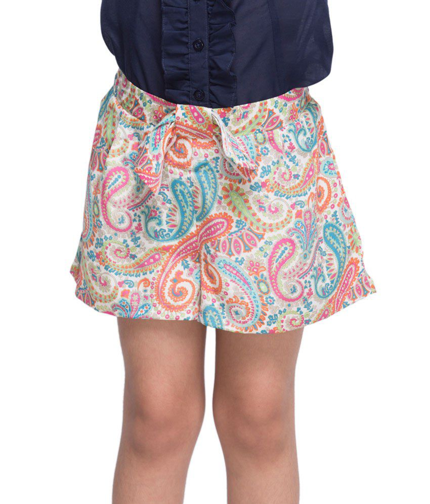 OXOLLOXO Multi Color Shorts For Kids