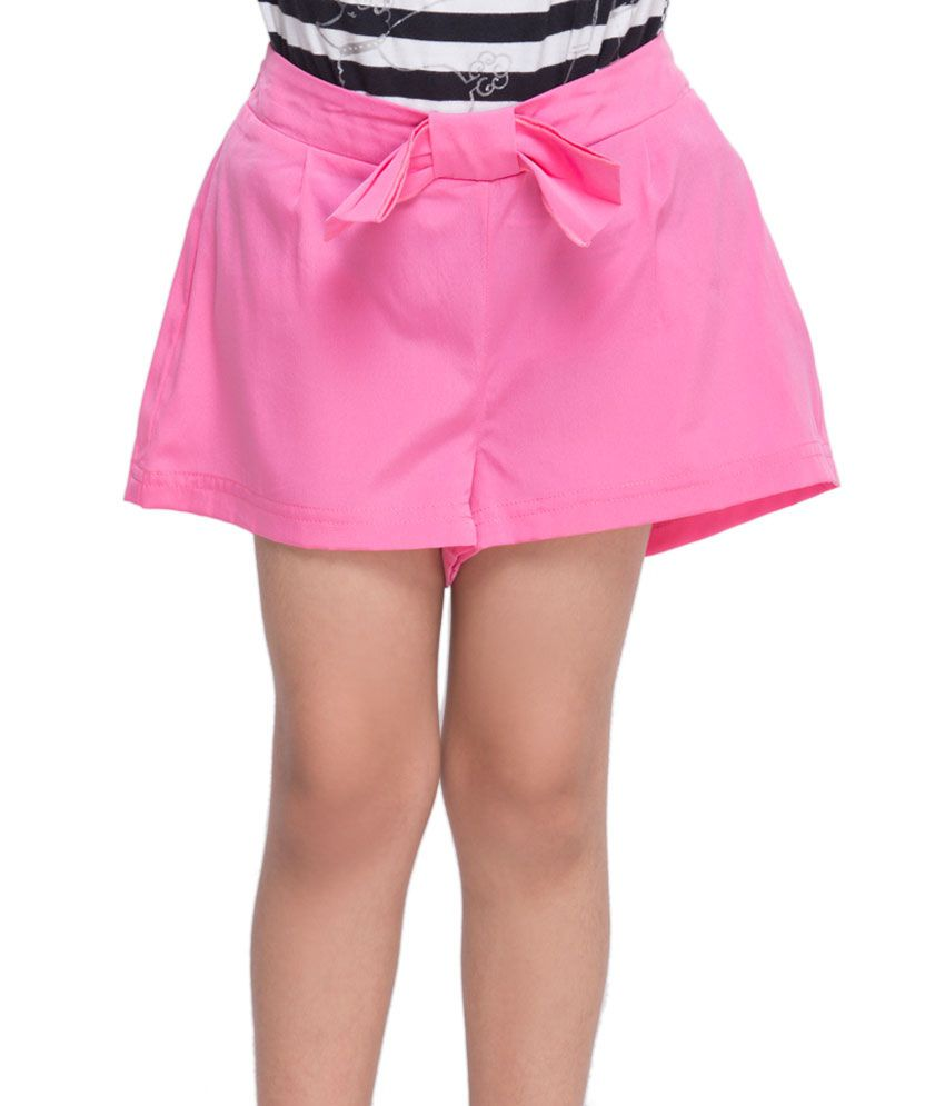 OXOLLOXO Pink Color Shorts For Kids