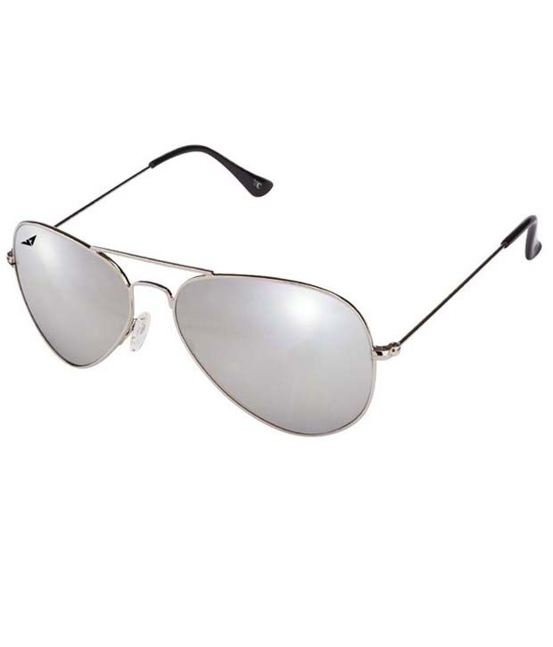 a8563d2119 Vincent Chase 93861 Silver Silver Mirror Aviator Sunglasses - Buy Vincent  Chase 93861 Silver Silver Mirror Aviator Sunglasses Online at Low Price -  Snapdeal