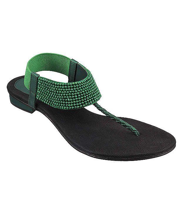 Metro Green Sandal