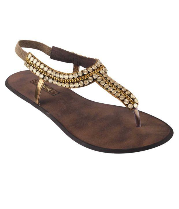 Mochi Brown Sandal
