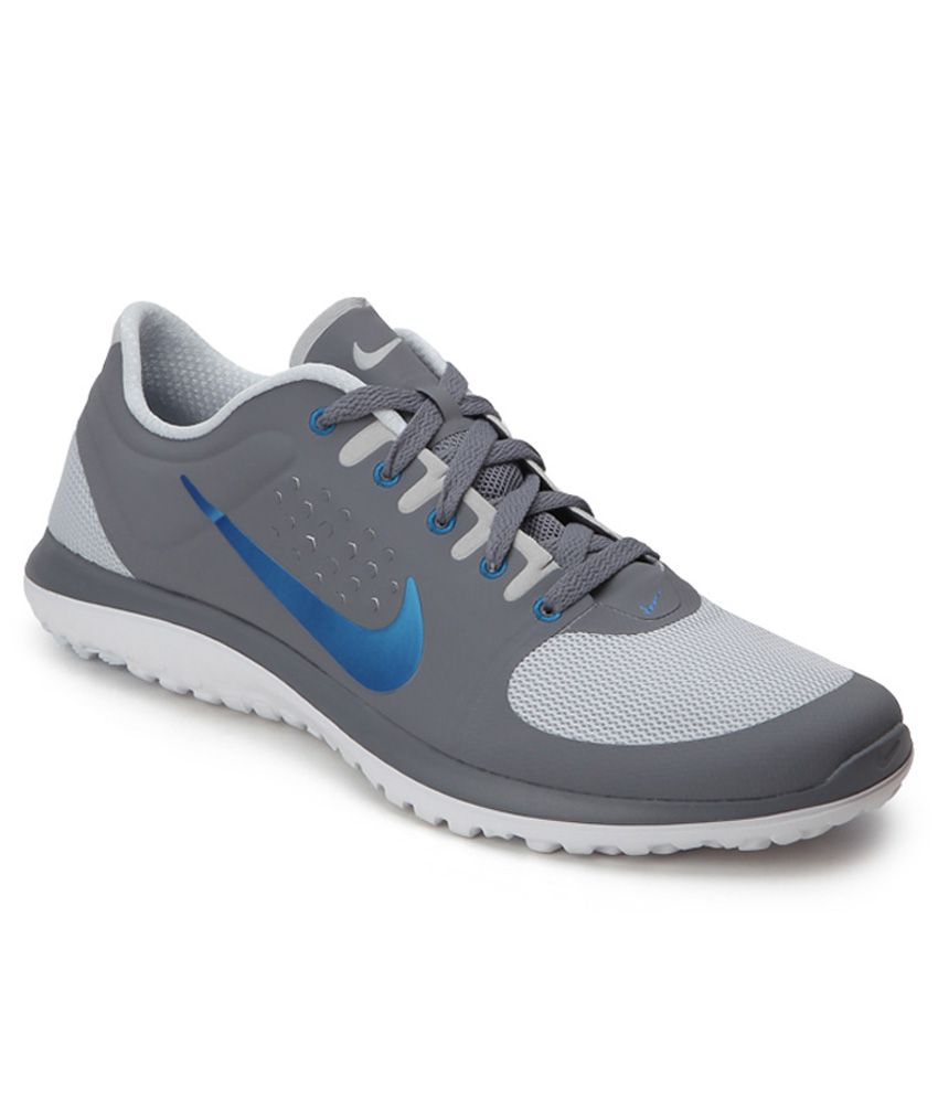 86991aac2e5 Nike Fs Lite Run Gray Running Shoes - Buy Nike Fs Lite Run Gray Running  Shoes Online at Best Prices in India on Snapdeal