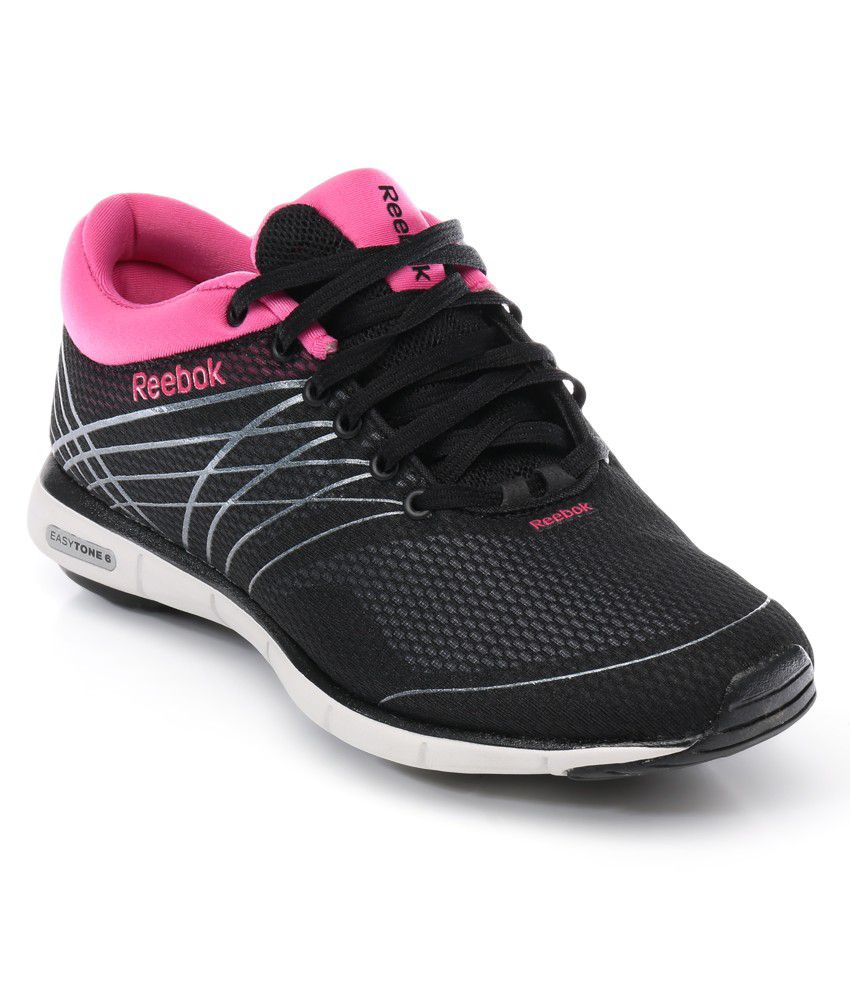 7fe176a0a080 Reebok Black Sport Shoes Price in India- Buy Reebok Black Sport Shoes Online  at Snapdeal