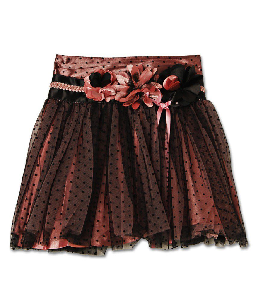 Cutecumber Peachpuff Color Skirts For Kids
