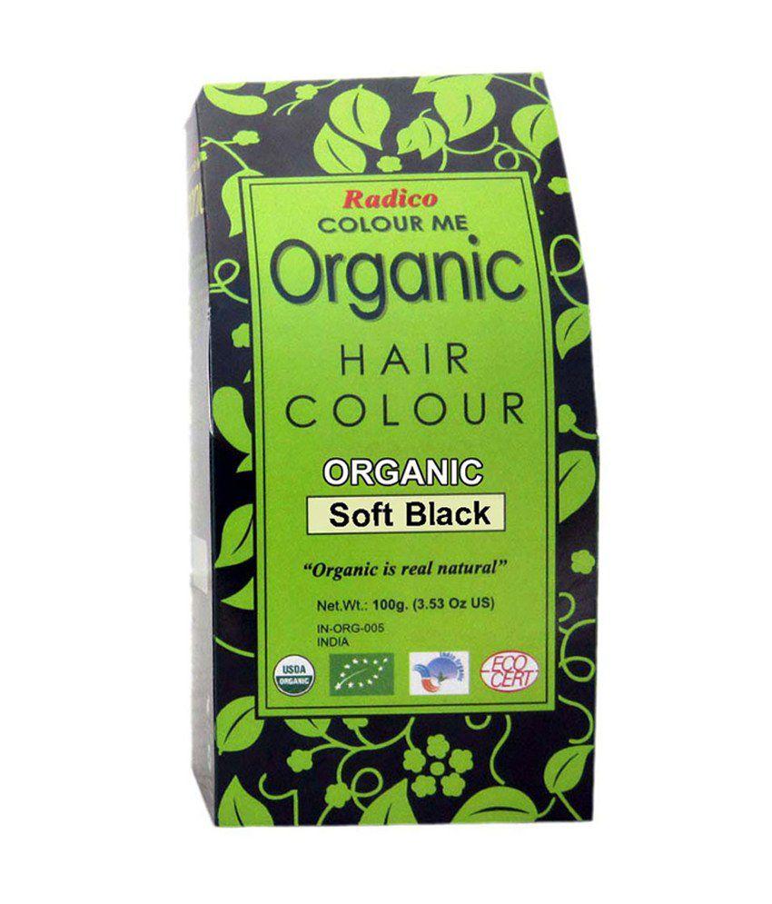 Radico Colour Me Organic Soft Black Hair Colour 100gm