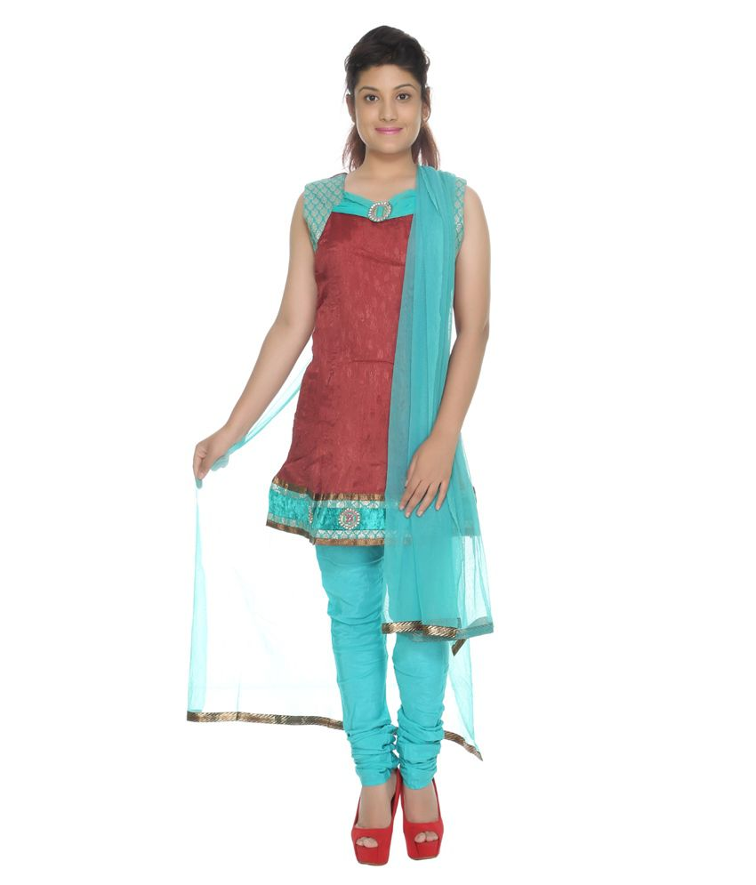 Rajrang Green Silk Stitched Salwar Suit