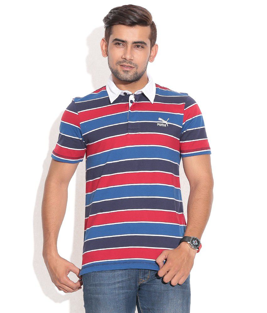 PUMA PEACOAT MEN'S JERSEY RUGBY POLO