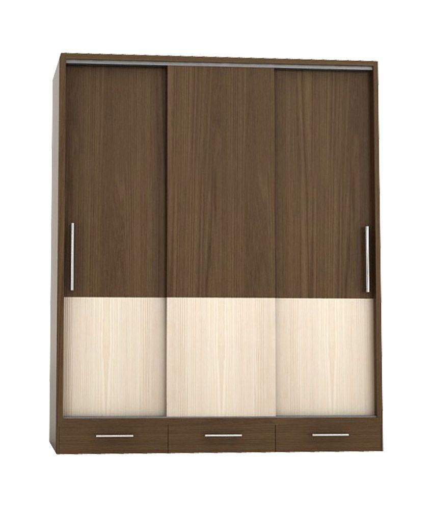 Timber Alabaster 3 Door Sliding Wardrobe Buy Online At Best Price