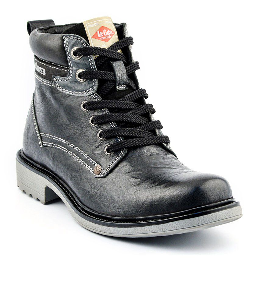 Lee Cooper Black Boots