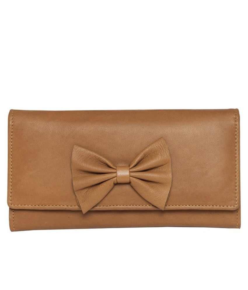 Justanned Casual Leather Formal Wallet For Women