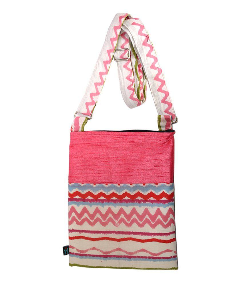 Roka Pink Sling Bag