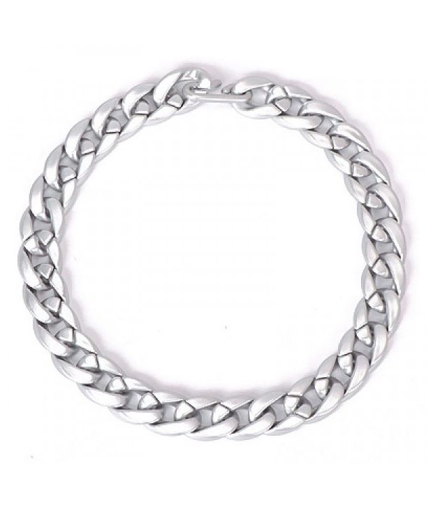 Sherrish.com Security Silver Color Pure Chains Necklace