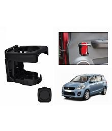 Speedwav Foldable Car Drink / Can Holder Black-maruti Ertiga  available at snapdeal for Rs.299