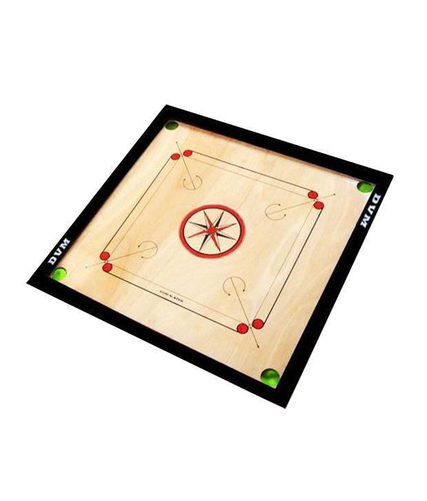 Lianas Premium Carom Board (26 Inches) & Freebie: Carom Coins