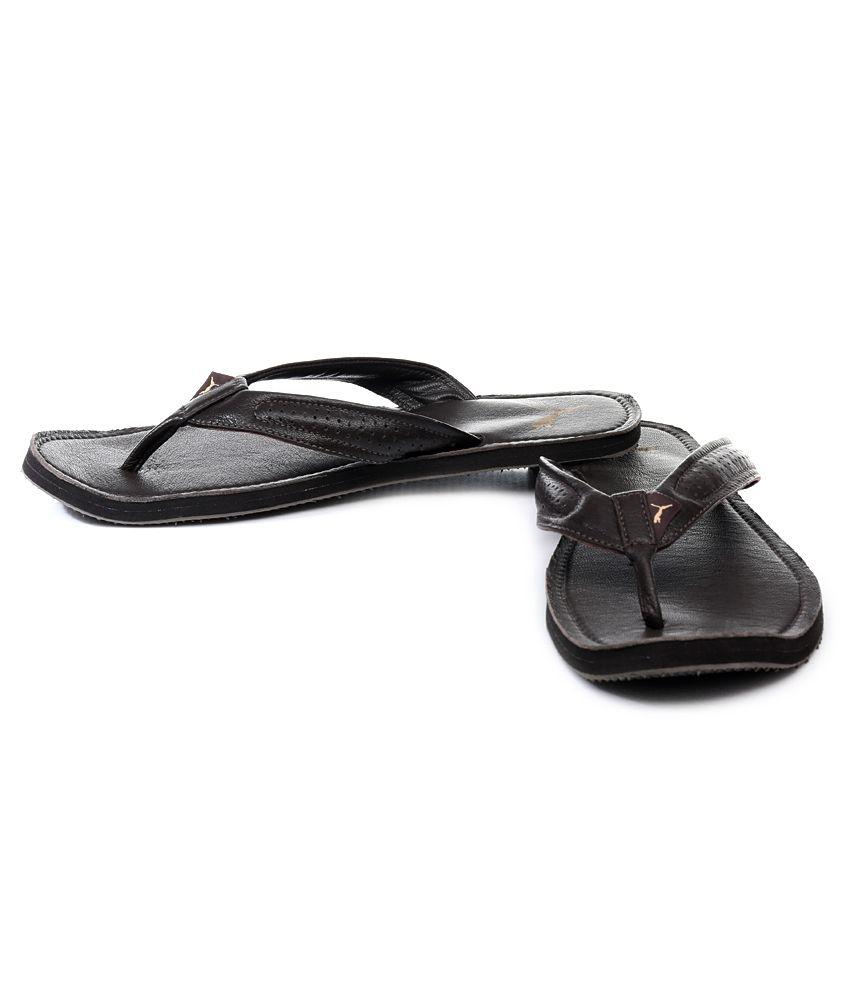 puma bathroom slippers