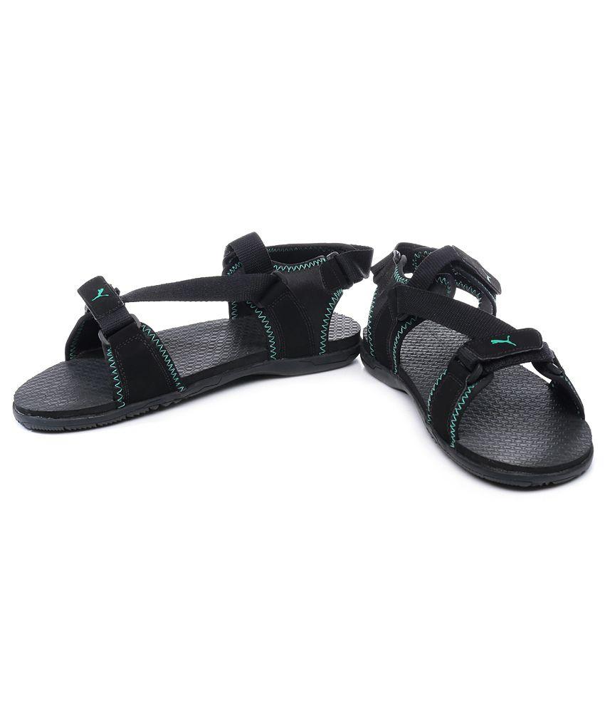 3d0d157d62154 Puma Black Woody DP Floater Sandals Puma Black Woody DP Floater Sandals ...