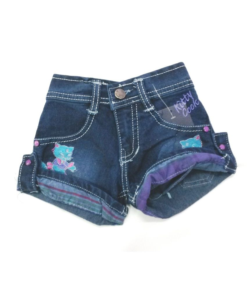 4s Blue Denim Shorts