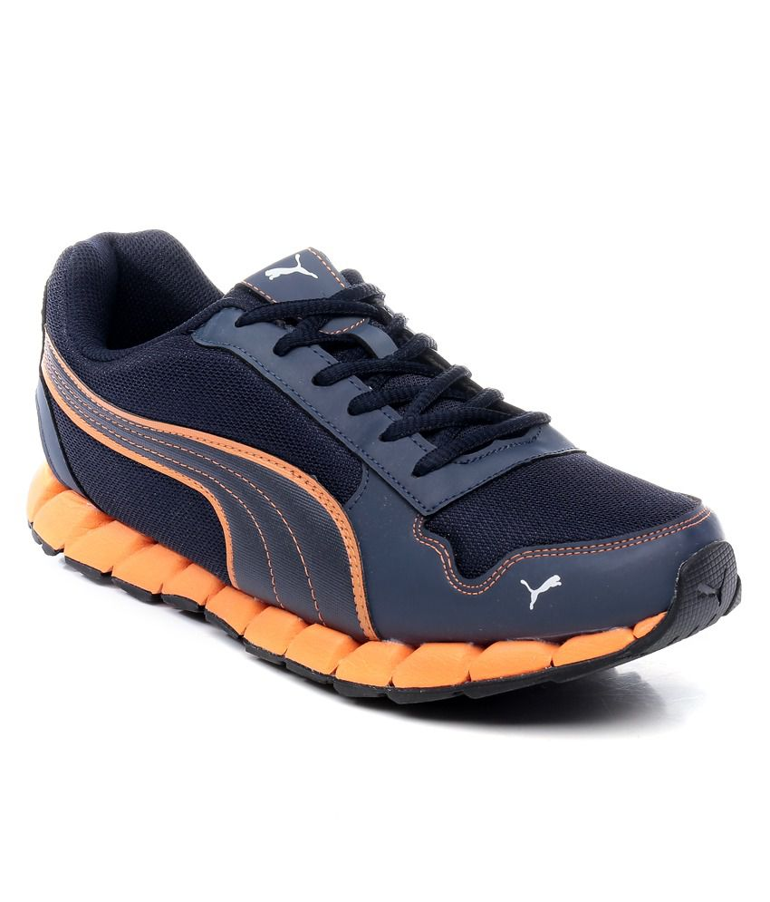 Puma Kevler Navy Blue Sports Shoes - Buy Puma Kevler Navy Blue Sports Shoes  Online at Best Prices in India on Snapdeal e2b62b802
