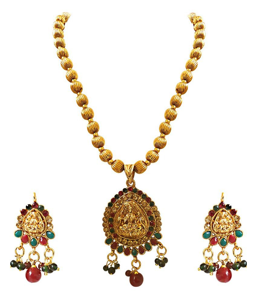 pure south necklace indian emerald jewels set india diamond