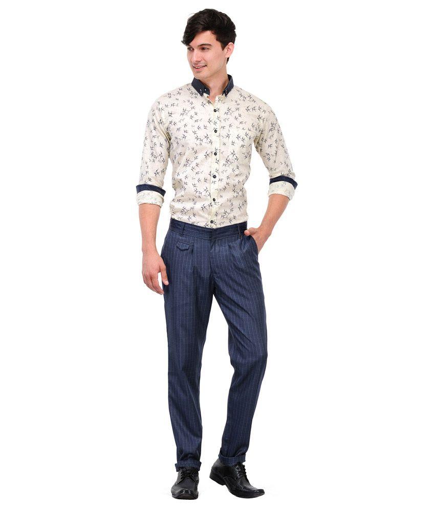 Phoenix Haute Couture Blue Regular Semi Formals