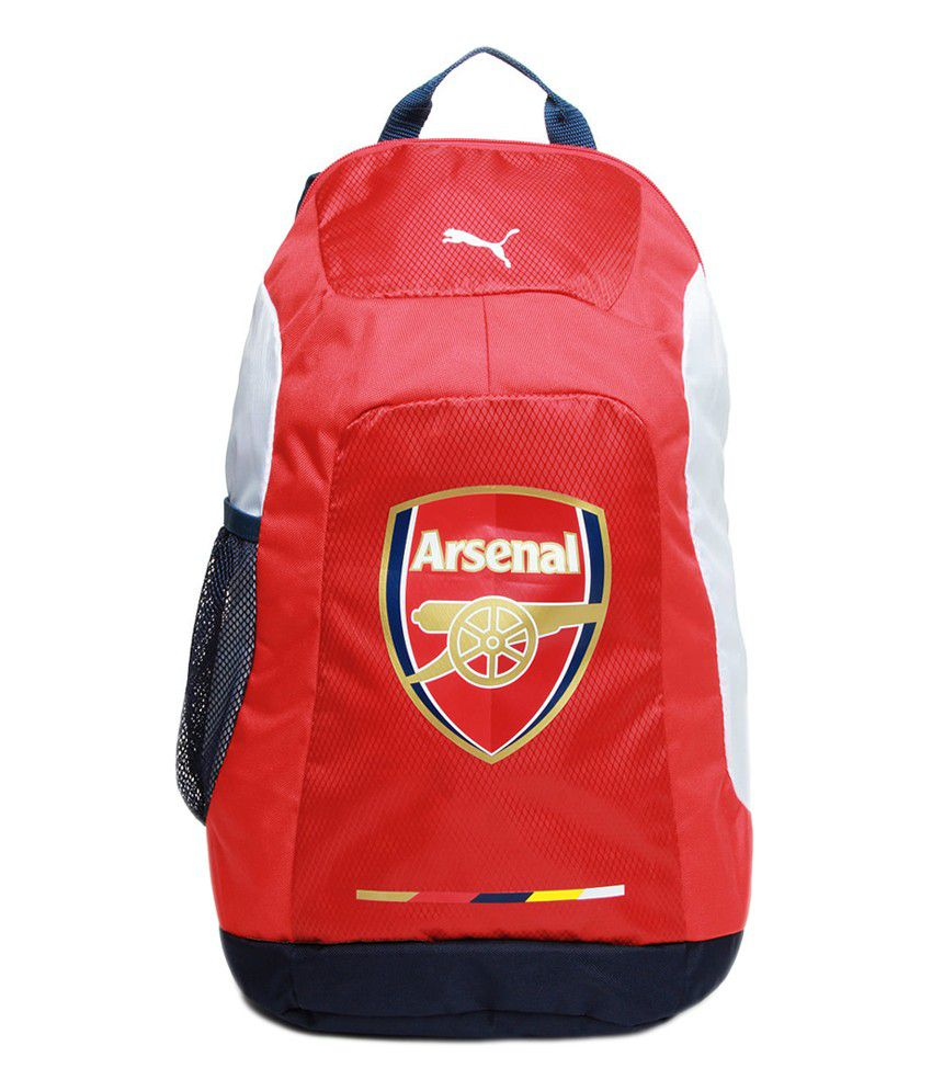 f6db6c361619 Puma Arsenal Red Back Pack - Buy Puma Arsenal Red Back Pack Online at Best  Prices in India on Snapdeal