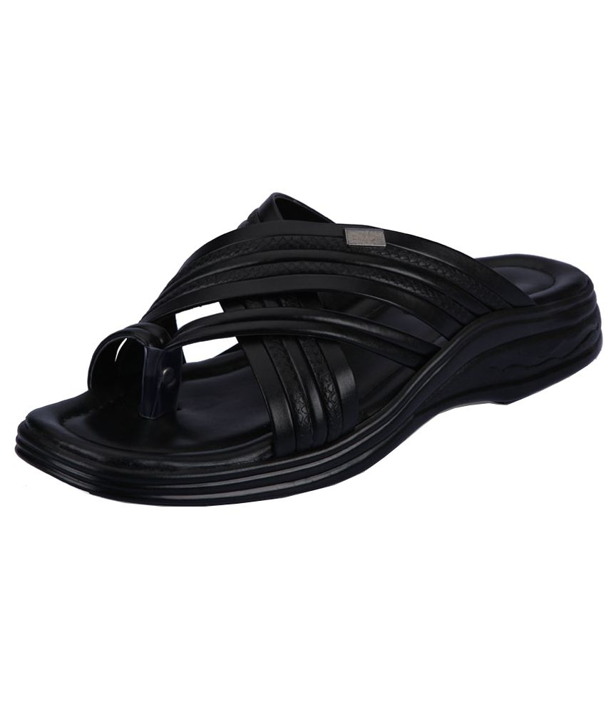 a3165dd9f429 Action Black Slippers For Men Price in India- Buy Action Black Slippers For  Men Online at Snapdeal